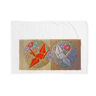 折鶴 Blankets