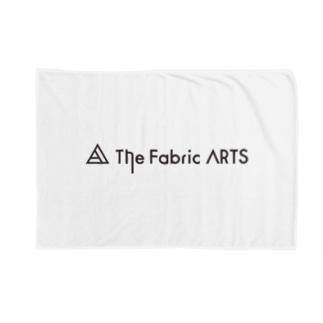 TheFabricARTSロゴ黒 Blankets