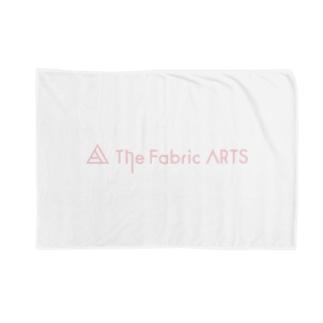 TheFabricARTSロゴピンク Blankets