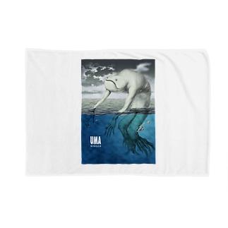 YUMA(未確認動物)ニンゲン Blankets