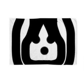 ウサちゃん家紋 ブランケット