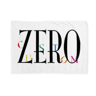 ZEROcustomロゴシリーズ Blankets