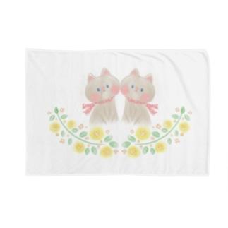 双子の子猫 Blankets