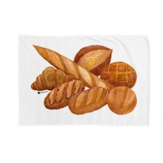 春のパン祭り ブランケット