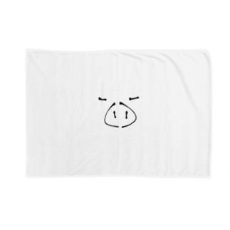 ぶた Blankets
