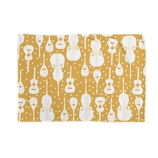マンドリンオーケストラ(orange,dot) Blankets