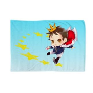 星の王子さま☆ミ僕ちゃんのお店★☆の震える君を包み込む…光のJOSTARブランケット☆彡 Blankets