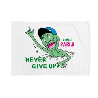 Zombie PARIJI(Nevergive up) Blankets