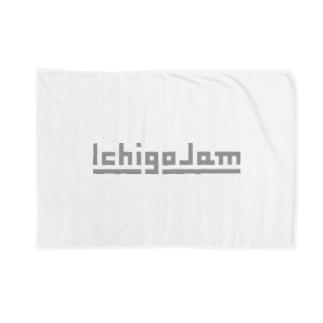 IchigoJamグッズ(グレー) Blankets