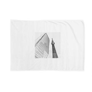 The City 東京スカイツリー Blankets
