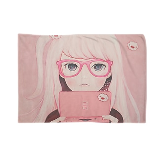 Gamegirl Girl Blankets
