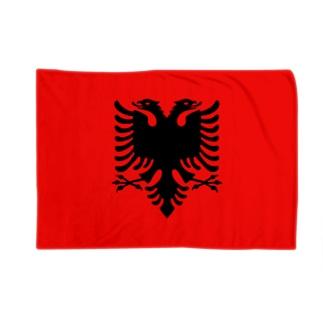 カマラオンテのアルバニア Albania アルバニア共和国 Republika e Shqipërise 旗 flag 国旗 Blankets