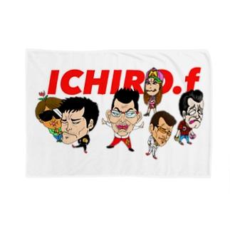 ICHIRO.F Blankets