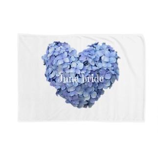 しぱしぱの6月の花嫁 Blankets
