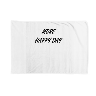 MORE HAPPY DAY Blankets