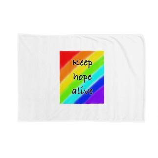 keep hope alive (希望を持って生きる) Blankets