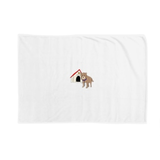 顔が四角い犬🐶 Blankets