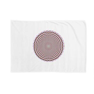 KAERUCAFE SHOPの錯視 Blankets