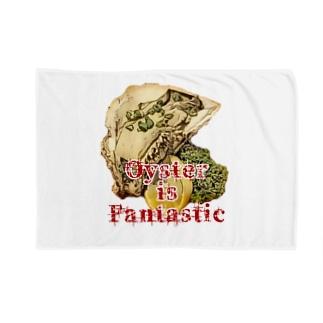 三重県産岩牡蠣1個650円 Blankets