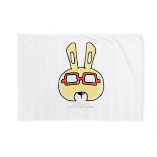 edysdays〜ウサギのエディ〜のウサギのエディ プロトタイプ Blankets
