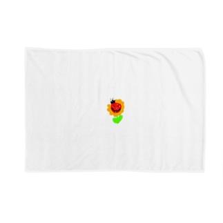 yuukanoaのお花てんとうむし Blankets