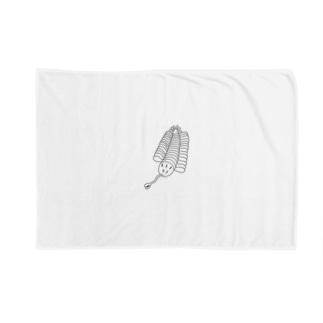 アトリエヱキパのオパビニア Blankets