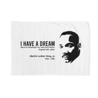 MARTIN LUTHER KING Blankets