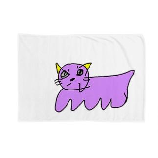 ねこ Blankets