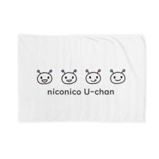 niconico U-chan /ニコニコうーちゃん Blankets