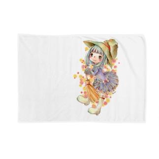 ルミ*withUの魔女子さん Blankets