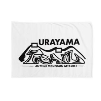 ウラヤマトレイル デザイン3 Blankets