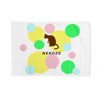 NEKOZEパステル Blankets