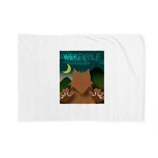 人狼(ホラーテイスト) Blankets
