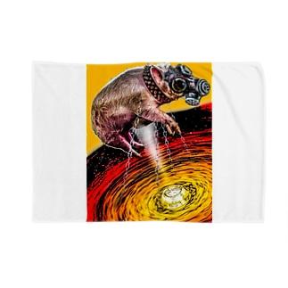 ガスマスク豚 Blankets