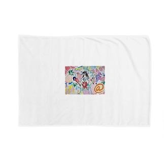 ゆうかのガール Blankets