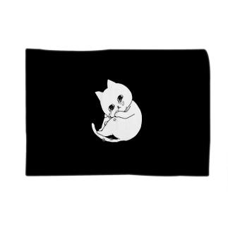 ぽろぽろネコ Blankets