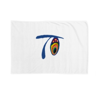 Tetsu-Art19 Blankets