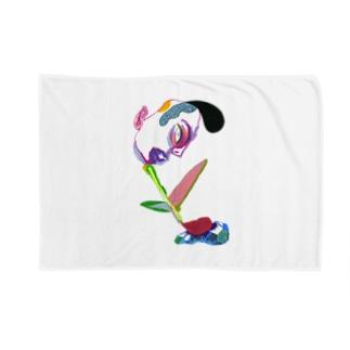 Tetsu-Art22 Blankets