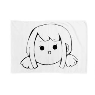 Yatamame ブランド -GIRL- Blanket