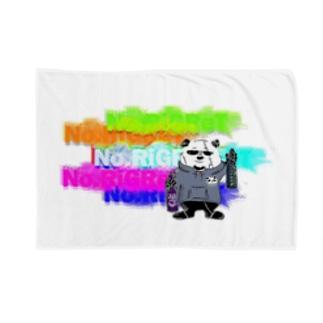 No.RiGReTパンダたかぴーブランケット Blanket