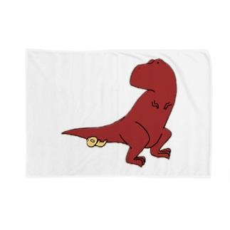ティラノサウルスくん Blankets