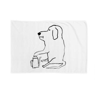 わん Blankets