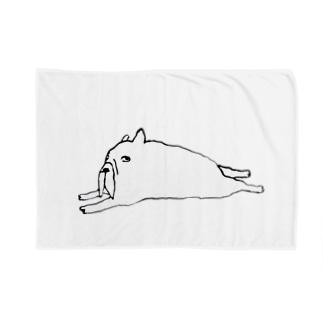 のび〜 Blankets