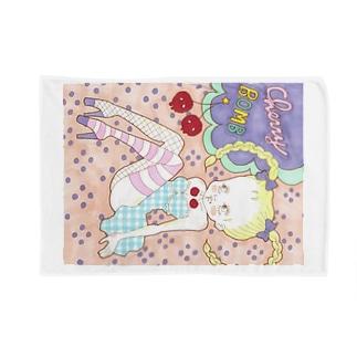 Cherry Bomb ブランケット Blankets