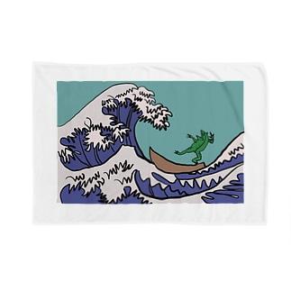 井の中の蛙、大海を知った。 Blankets