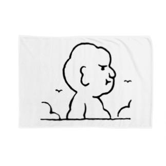 入道さんあらわる Blankets