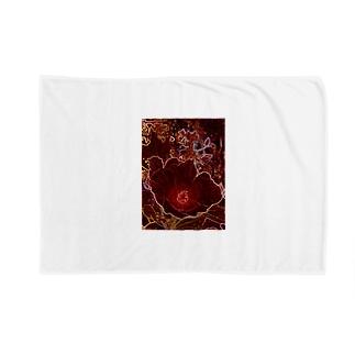 芙蓉 DATA_P_154 Confederate Rose ハスの花の古名 Blankets