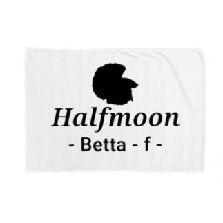 Halfmoon Betta⑤Black Blankets