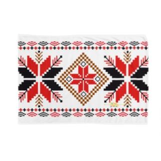 オーナメントスタークラシックパターン Blankets