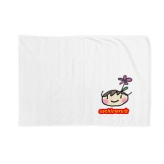 さちまる☆のグッズ Blankets